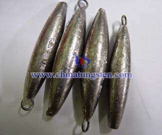 Tungsten Eye Fishing sinkers Picture